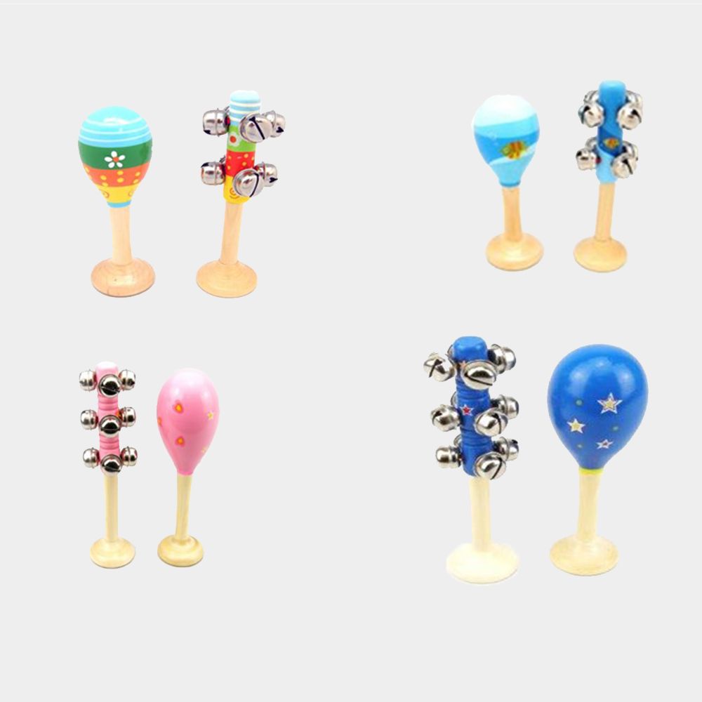Assorted Maraca & Bell Sets