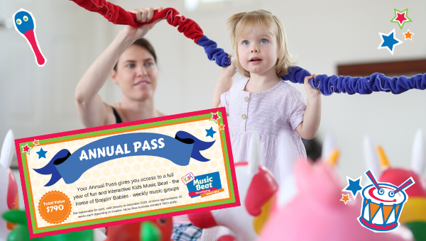 Kids Music Beat Annual Pass 2020